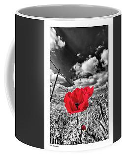 The Red Spot Coffee Mug by Arik Baltinester