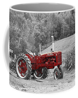 The Red Tractor Coffee Mug by Aimelle