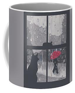 The Red Umbrella Coffee Mug