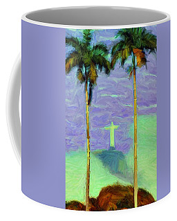 The Redeemer Coffee Mug by Caito Junqueira