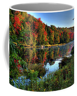 Coffee Mug featuring the photograph The Reds Of Early Autumn by David Patterson