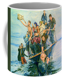 The Refugees Seek The Shore Coffee Mug