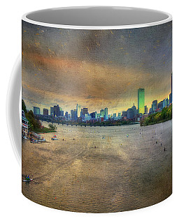 Coffee Mug featuring the photograph The Regatta - Head Of The Charles - Boston by Joann Vitali