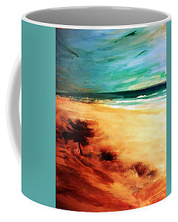 Coffee Mug featuring the painting The Remaining Pine by Winsome Gunning