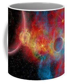 The Remains Of A Supernova Give Birth Coffee Mug