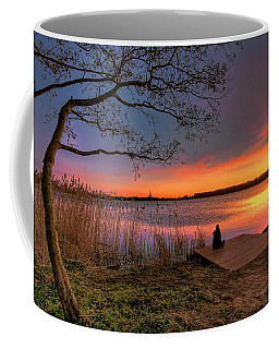 The Remains Of The Day Coffee Mug by Nadia Sanowar