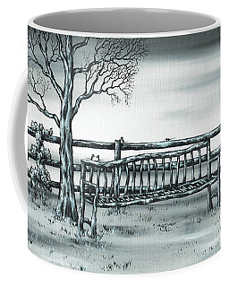 Coffee Mug featuring the painting The Rematch by Kenneth Clarke