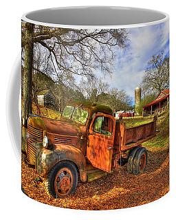 The Resting Place 2 Farm Life 1947 Dodge Dump Truck Art Coffee Mug