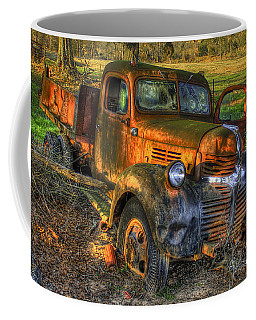 The Resting Place With A Sunset Glow Coffee Mug