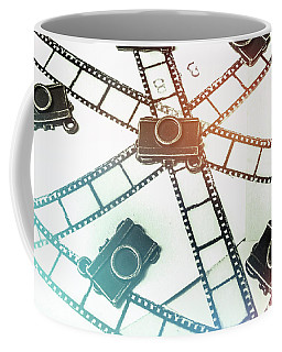 The Retro Camera Reel Coffee Mug