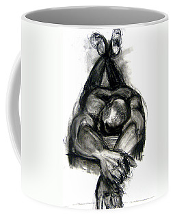 Coffee Mug featuring the drawing The Revolutionary Act by Gabrielle Wilson-Sealy