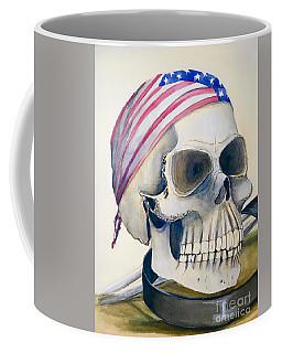 The Rider's Skull Coffee Mug
