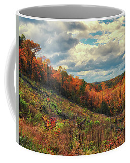 The Ridges Of Southern Ohio In Fall Coffee Mug