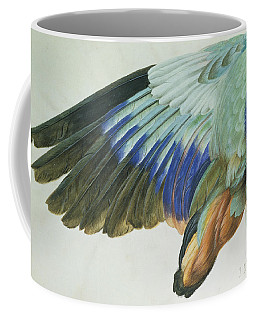 The Right Wing Of A Blue Roller Coffee Mug