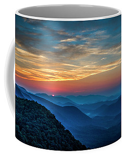 The Rising Sun Pretty Place Chapel Greenville S C Great Smoky Mountain Art Coffee Mug
