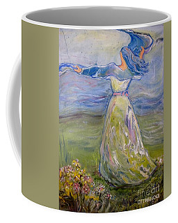 The River Is Here Coffee Mug