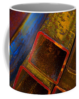 Coffee Mug featuring the photograph The River by Skip Hunt