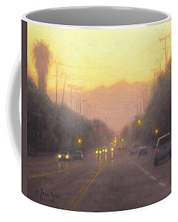 The Road Ahead Coffee Mug