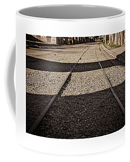 Coffee Mug featuring the photograph The Road by Cendrine Marrouat