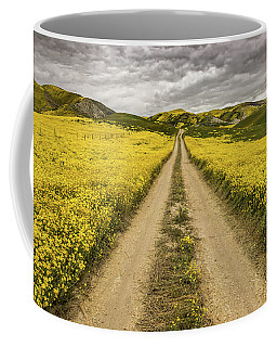 The Road Less Pollenated Coffee Mug