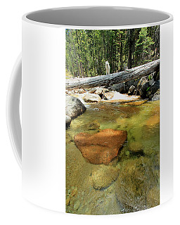 The Road Less Travelled  Portrait Coffee Mug