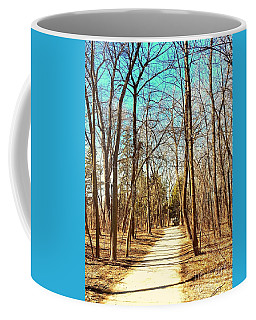 The Road Not Taken Coffee Mug