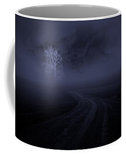 Coffee Mug featuring the photograph The Road by Robert Geary