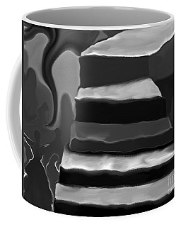 Coffee Mug featuring the mixed media The Road To Despair by Patricia Griffin Brett