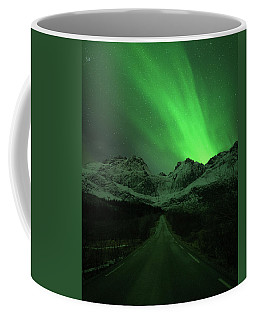 The Road To Nusfjord Coffee Mug