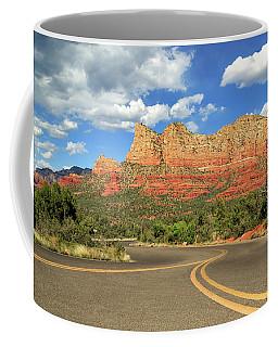 The Road To Sedona Coffee Mug
