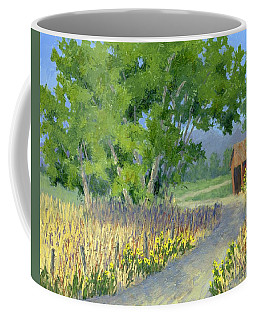 The Road To The Back Field Coffee Mug