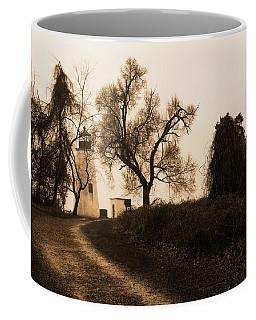 The Road To Turkey Point Lighthouse Coffee Mug