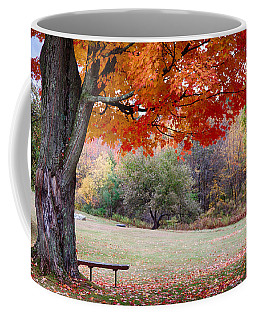Coffee Mug featuring the photograph The Robert Frost Farm by Jeff Folger