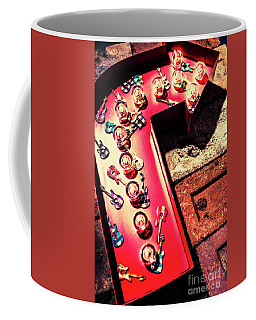 The Rock N Roll Concert Neon Coffee Mug