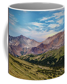 Coffee Mug featuring the photograph The Rockies by Bill Gallagher