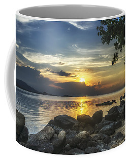 The Rocks At Dusk Coffee Mug