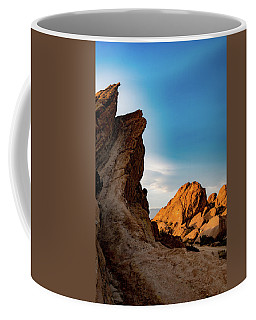 Coffee Mug featuring the photograph The Rocks Of Vasquez by Michael Hope