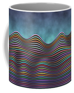 The Rolling Hills Of Subtle Differences Coffee Mug