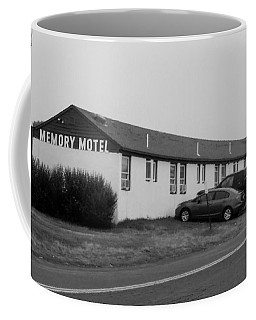 The Rolling Stones' Memory Motel Montauk New York Coffee Mug