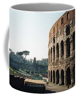 The Roman Colosseum Coffee Mug by Marna Edwards Flavell