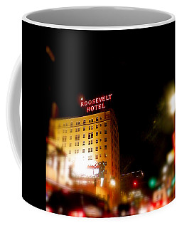 The Roosevelt Hotel By David Pucciarelli  Coffee Mug