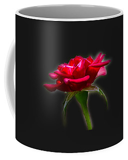 Coffee Mug featuring the photograph The Rose  Tee-shirt by Donna Brown