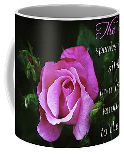 Coffee Mug featuring the photograph The Rose by Trina Ansel