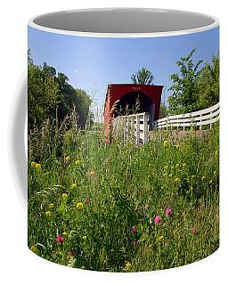 The Roseman Bridge In Madison County Iowa Coffee Mug