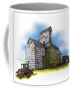 The Ross Elevator Autumn Coffee Mug