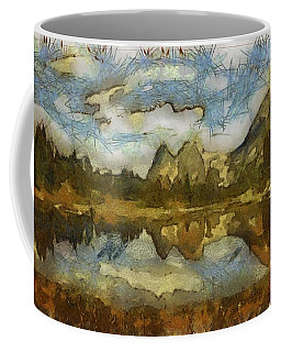 The Roughness Of Natural Beauty Coffee Mug