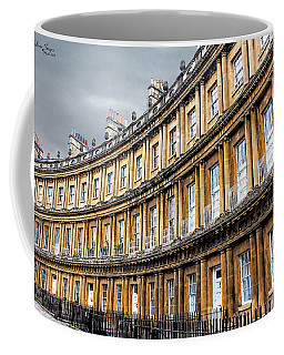 Coffee Mug featuring the photograph The Royal Crescent, Bath by Wallaroo Images