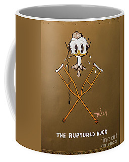 The Ruptured Duck Coffee Mug