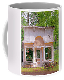 Coffee Mug featuring the photograph The Rural Store by Trey Foerster