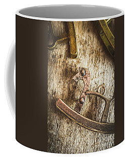 The Rusted Toy Horse Coffee Mug
